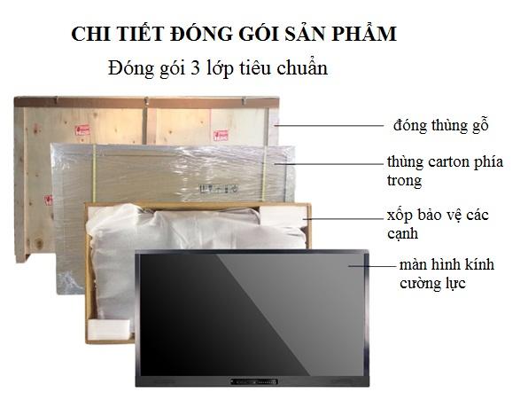 CHI TIET DONG GOI SAN PHAM MAN HINH TUONG TAC THONG MINH 65 INCH