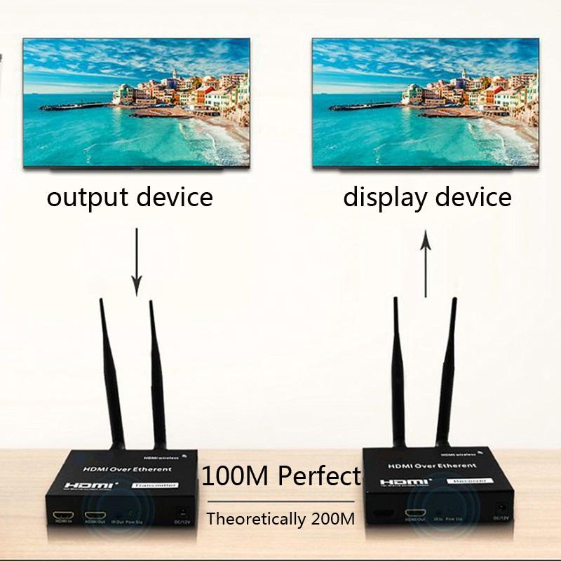 THIET BI THU PHAT WIFI HDMI KHONG DAY U-TECH W200